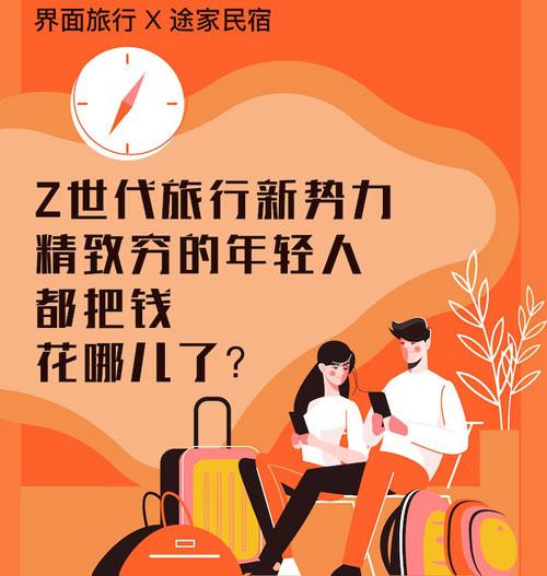 Z世代旅行新势力:25%的年轻人选择拼假出游