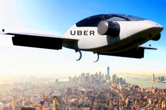 Uber與現代汽車:將合作開發電動空中出租車
