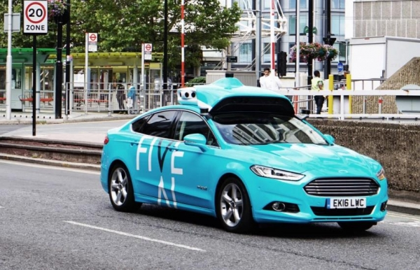 Five:自动驾驶初创企业融资4100万美元