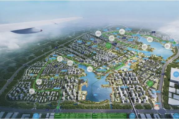 合肥华侨城空港国际小镇开工 总投资约500亿元