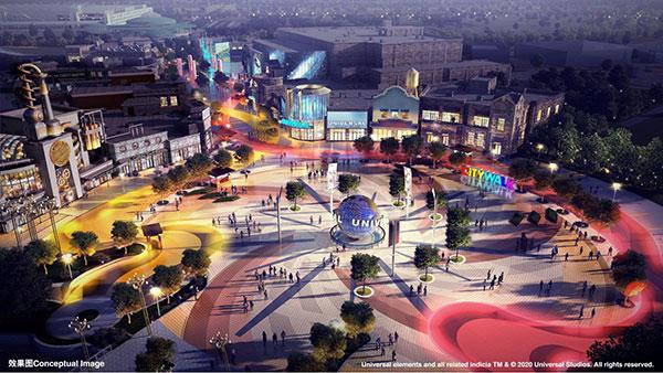 北京环球度假区城市大道五大亮点细节首次发布