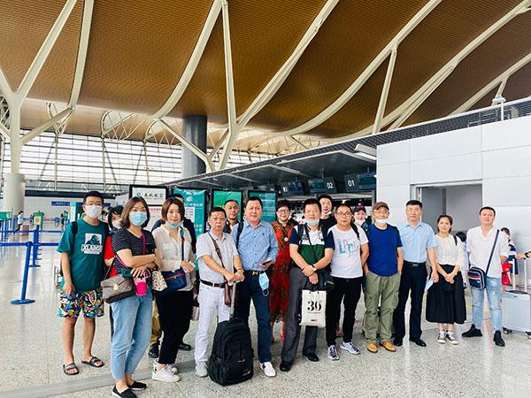 国内跨省游重启:上海旅游首发团首赴松原