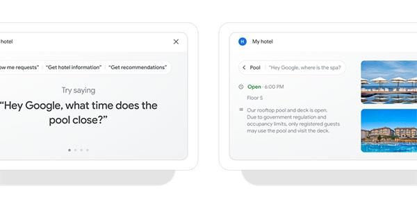 谷歌:加速推出酒店客房非接触式服务Nest Hub