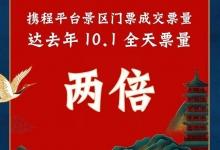 携程:门票预订同比增100% 上海北京人气领先