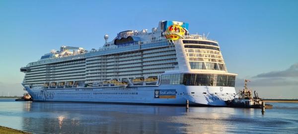 """皇家加勒比:""""海洋奥德赛号""""今年5月从以色列启航"""