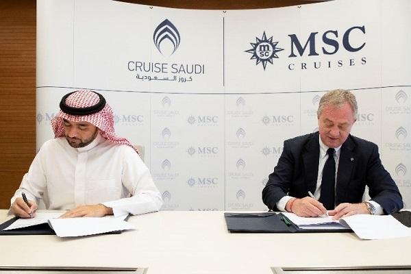 MSC地中海邮轮:与沙特邮轮公司签署重要协议